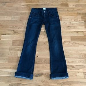 Hudson USA Signature Bootcut Dark Wash Denim Jeans